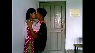 Hot Couple Kissing In Classroom - 43 sec