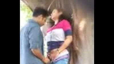 Lovers having sex in park uploded by- Nutriporn.com - 2 min