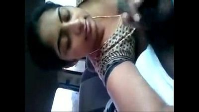 my sister sucking my cock and swallowing my cum in car - 1 min 0 sec