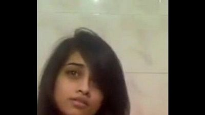 Hot Indian Babe Stripping Naked In Shower - 47 sec