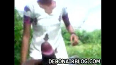 innocent andhra girl gives blowjob outdoors - 2 min