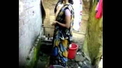 bangla desi village girl bathing in dhaka - 2 min