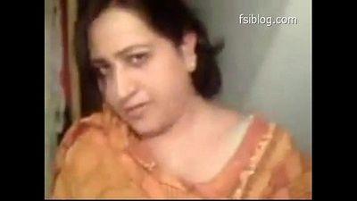 Beautiful Punjabi bhabi shows her boobs, sucks and licks penis, Punjabi audio - 3 min