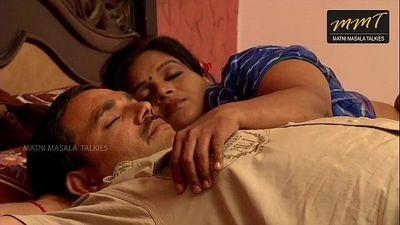 Indian House wife sharing bed with her Husband friend when his husband deeply sleeping - 14 min