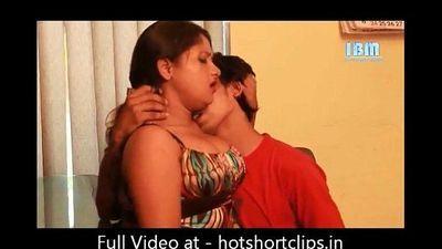 Hot Sexy Boss Interview sex big boobs Indian Actress - hotshortclips.in - 4 min