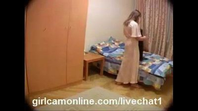 Wife caught in hidden cam-Free Signup royalcamgirls.com/cam - 9 min