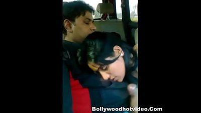 Desi Couple Enjoying In Car - 5 min