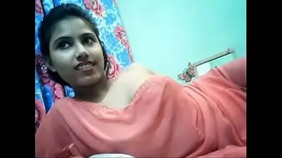 Cute desi girl boobs show on cam - IndianSexMms.co - 4 min