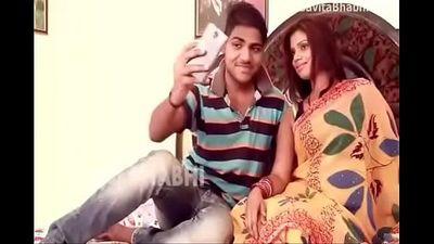 Devar And Bhabhi Hot Selfie - 9 min