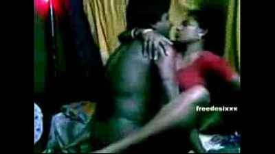 Horny Bengali wife loves fucking and smooching - 6 min