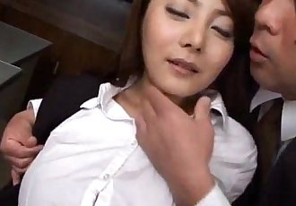 Mei Sawai has boobs fondled and is pumped - 10 min