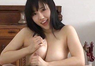 Bsty Azusa Nagasawa amazes with her cock sucking - 12 min