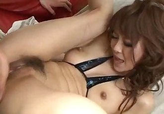 Sweet porn show along horny Misa Kikouden - 12 min