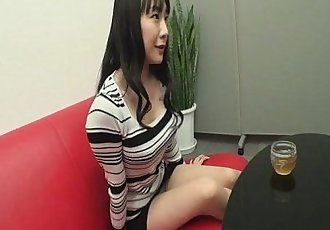 Miho Wakabayashi Creampied In A Threesome - 8 min