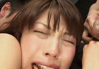 Submissive Young Japanese Teen Stuffed By Multiple Cocks - 17 min