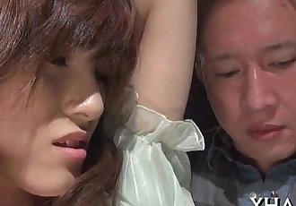 Japanese slut fucks with sex tool - 5 min