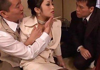 Asian bitch Kurosawa getting fucked - 1 min 0 sec