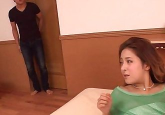 Absolutely Gorgeous Japanese girl loves to squirt; more on xbadbitches.webcam - 12 min