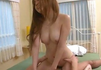 Mami Masaki starts having sex on cam in harsh ways - 12 min