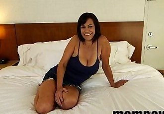 hot milf fucking in hotel on camera - 5 min