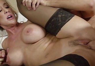 Milf with bigtits pussyfucked deeply - 6 min