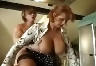 StepMom takes huge cream at homeTaboomoza