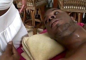 Latino Oily Gay Massage on Gayspamovie