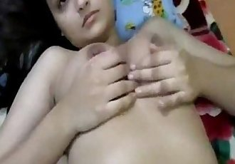 Indian girlfriend fucked hard - 5 min