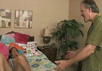 The Girl Next Door Fucks Mature Neighbour - 7 min