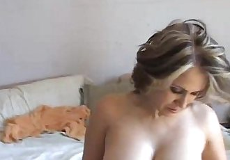 Mature mexican enjoys a hard fuck and a big facial - 5 min