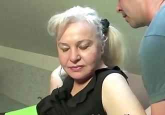 Exclusive granny porn scene - 5 min