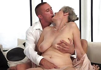 Excellent Horny grandma Lizbeth Lincoln - 8 min