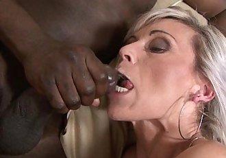 Teasing tight pussy interracial rough black anal fuckingHD