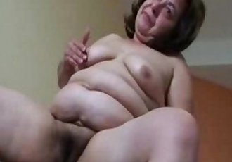 Must see this pervert old whore. Amateur older - 2 min