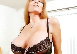 Busty Mature Redhead Darla Crane - 3 min