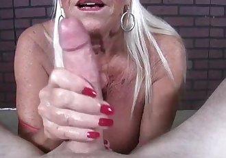 Old Lady POV Jerking - 3 min HD