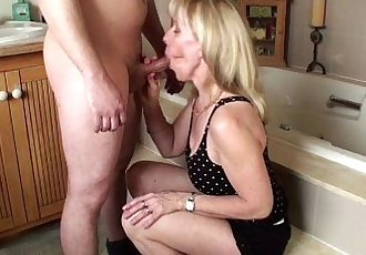 A Young Guy Gives Me His First Facial
