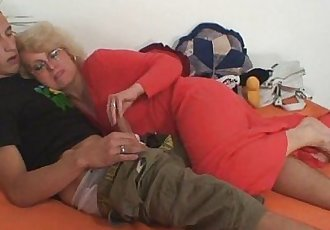 Mother in law is just fucked me - 6 min