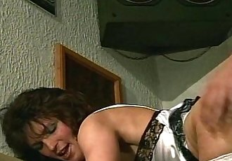 Saucy Mom Fucked And Fisted In Fishnet StockingsHD
