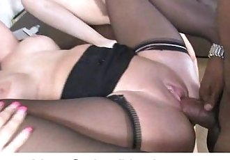 Interracial sex with sexy cougar 12