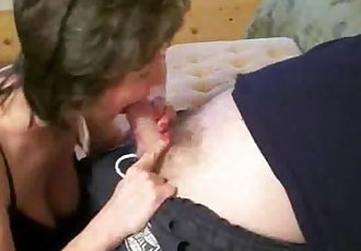 Your mom is sucking on my dick