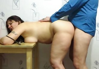 sex mature couple. Creampie