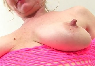 This British granny is blessed with a high sex drive