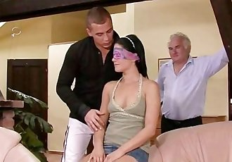 Hot wife rides stranger\