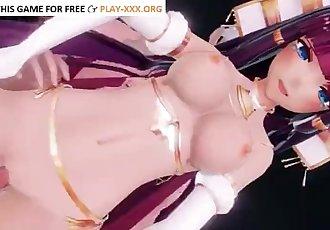 RAMESSES II IN THE GENTLEMAN HAND PARADISE SEX DANCE